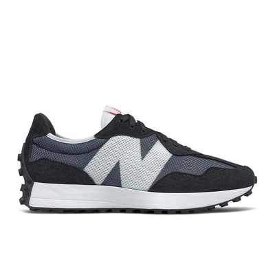 NEW BALANCE 327 運動鞋 慢跑鞋 男女鞋 黑灰 MS327BC-D楦