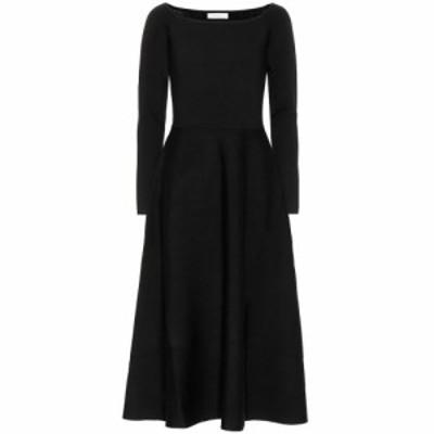 ガブリエラ ハースト Gabriela Hearst レディース ワンピース マキシ丈 ワンピース・ドレス Gurshka stretch-wool maxi dress Black