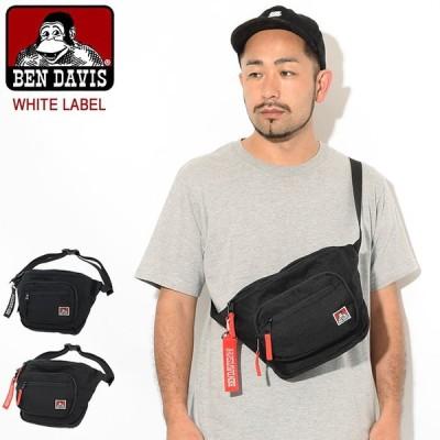 ベンデイビス ボディバッグ BEN DAVIS ポケット S ホワイトレーベル(BDW-9345 Pocket S Body Bag ウエストバッグ ウエストポーチ)