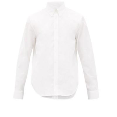 ヘルムート ラング Helmut Lang メンズ シャツ トップス Layered cotton-poplin shirt White