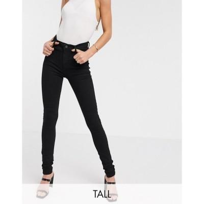 ニュールック レディース デニムパンツ ボトムス New Look Tall disco jeans in black