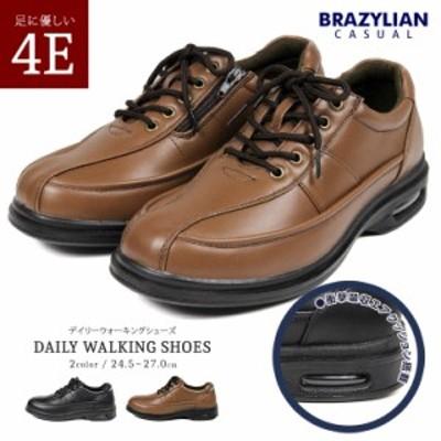 コンフォートシューズ メンズ 4e EEEE 幅広 エアークッション ウォーキングシューズ ビジネスシューズ 4e EEEE 幅広 カジュアル メンズ靴