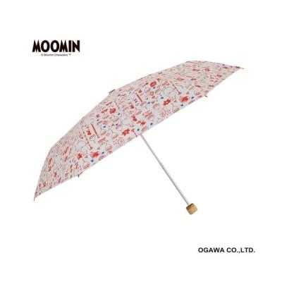 【ムーミン】晴雨兼用折畳傘(ムーミン/お花となかまたち)56136