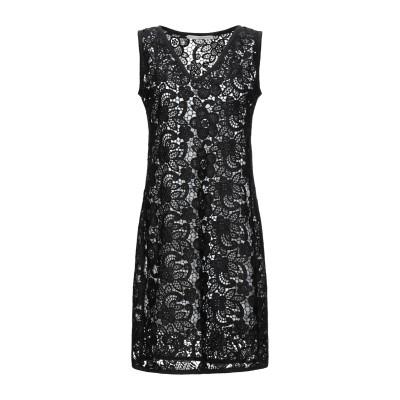 マッシモ レベッキ MASSIMO REBECCHI ミニワンピース&ドレス ブラック 46 ポリエステル 100% ミニワンピース&ドレス
