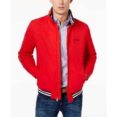 トミー ヒルフィガー ジャケット&ブルゾン アウター メンズ Men's Regatta Jacket Racing Red
