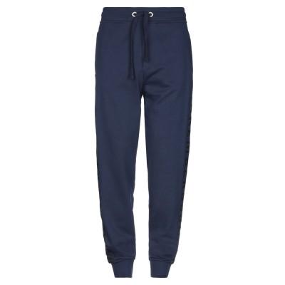 ビッケンバーグ BIKKEMBERGS パンツ ダークブルー XS コットン 100% / ポリウレタン パンツ