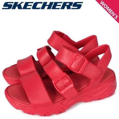 スケッチャーズ SKECHERS ディーライト サンダル スポーツサンダル レディース 厚底 DLITES 2.0-STYLE ICON レッド 111061