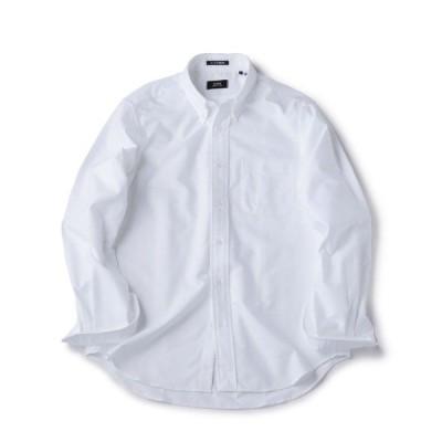 シャツ ブラウス SHIPS×IKE BEHAR: アメリカ製 オックスフォード ボタンダウン シャツ