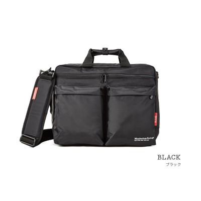 【カバンのセレクション】 マンハッタンポーテージ ビジネスバッグ リュック 3WAY B4 Manhattan Portage mp1446hbiz ユニセックス ブラック フリー Bag&Luggage SELECTION