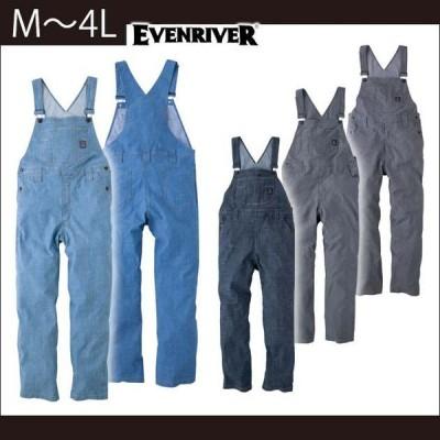 S〜3L|EVENRIVER|イーブンリバー|春夏作業服|ストレッチエアーライトオーバーオール SR-6110