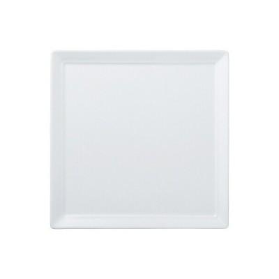 陶里 第30集 白磁 オードブル25cm四角皿 72902-080