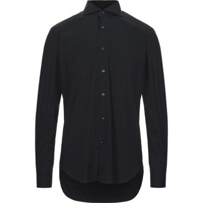 レキシントン LEXINGTON メンズ シャツ トップス solid color shirt Black