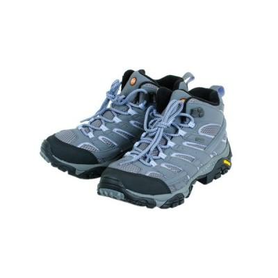 メレル(MERRELL) トレッキングシューズ 登山靴 MOAB2 MID GTX モアブ 2 ミッド ゴアテックス グレー 灰色 登山 山登り (レディース)