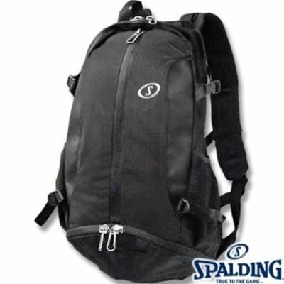 SPALDINGケイジャー ブラック チーム バスケットボールバッグ バスケカバン スポルディング40-007SV02