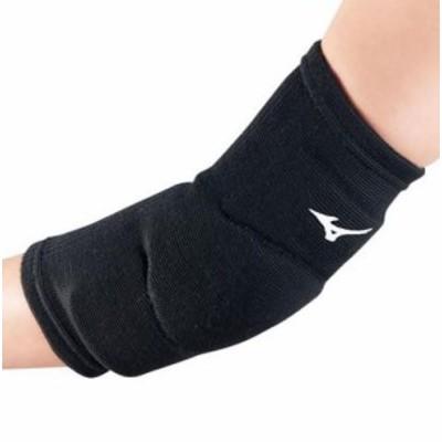 ミズノ MIZUNO ユニセックス バレーボール アクセサリー 肘サポーター(1個入り) V2MY801309 ブラック 【2018SS】