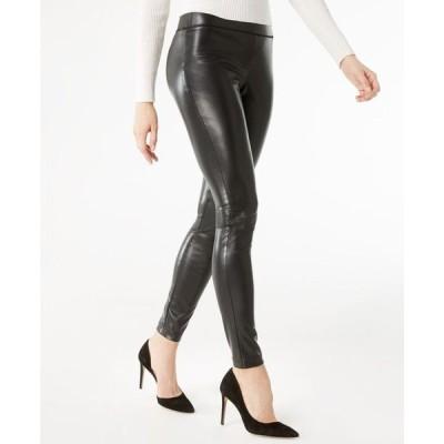 アイエヌシーインターナショナルコンセプト レディース カジュアルパンツ ボトムス INC Petite Faux-Leather Skinny Pants