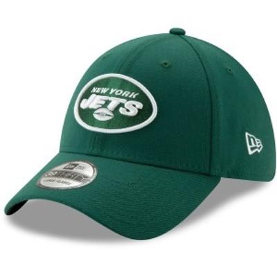 ニューエラ メンズ 帽子 アクセサリー New York Jets New Era NFL Team Classic 39THIRTY Flex Hat Green