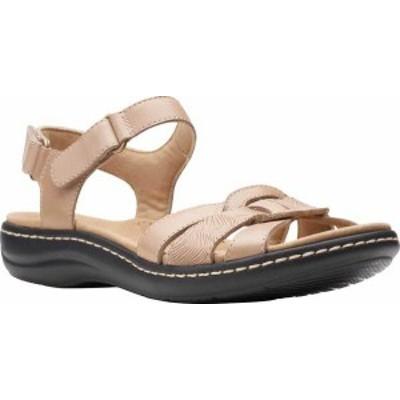 クラークス レディース サンダル シューズ Women's Clarks Laurieann Sela Slingback Sandal Sand Leather