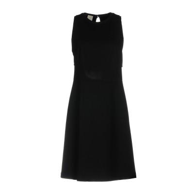 ピンコ PINKO ミニワンピース&ドレス ブラック 40 レーヨン 65% / ナイロン 30% / ポリウレタン 5% ミニワンピース&ドレス