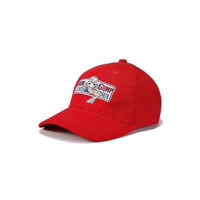 XINGCHEN 調節可能 Bubba Gump 野球帽 レッド