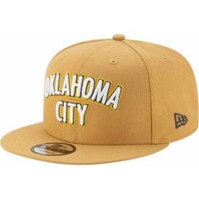 ニューエラ メンズ 帽子 アクセサリー New Era Men's Oklahoma City Thunder 9Fifty City Edition Adjustable Snapback Hat -