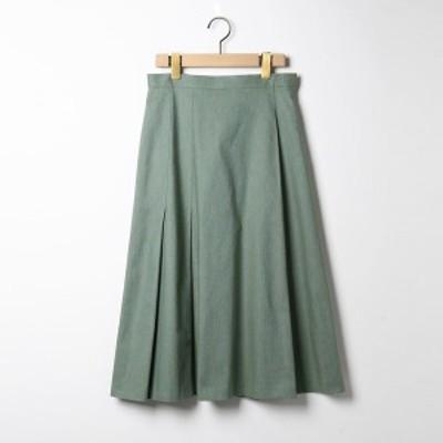 スキャパ(SCAPA)/リネンヘリンボンツィードスカート