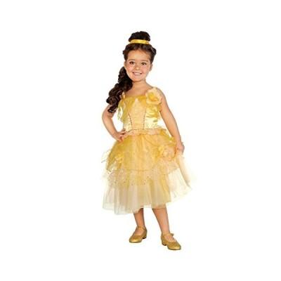 ルビー ゴールデン プリンセス Deluxe コスチューム ドレス, チャイルド スモール(海外取寄せ品)