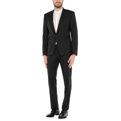 ドルチェ & ガッバーナ DOLCE & GABBANA スーツ ブラック 46 バージンウール 50% / シルク 50% スーツ