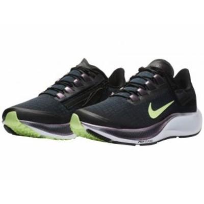 Nike ナイキ レディース 女性用 シューズ 靴 スニーカー 運動靴 Air Zoom Pegasus 37 FlyEase Black/Ghost Green/Valerian【送料無料】