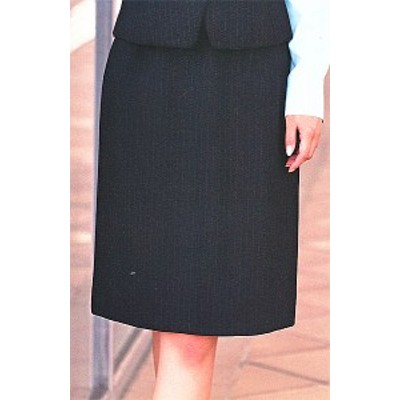 S-19980 タイトスカート(52cm丈) ブラック 全1色 (セロリー SELERY クレッセ 事務服 制服)