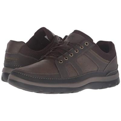 ロックポート Get Your Kicks Mudguard メンズ スニーカー 靴 シューズ Dark Brown Leather