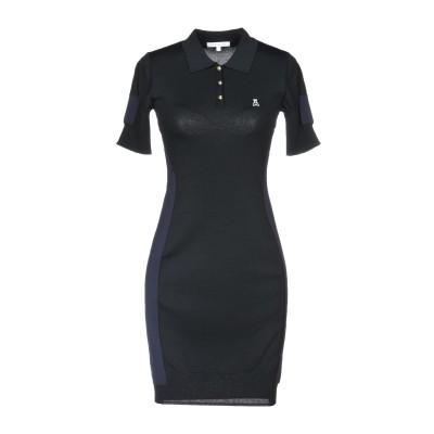 パトリツィア ペペ PATRIZIA PEPE ミニワンピース&ドレス ブラック 1 65% レーヨン 35% ナイロン ミニワンピース&ドレス