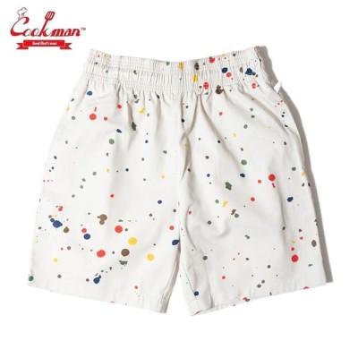 COOKMAN/クックマン Chef Short Pants/シェフショートパンツ・「Sauce Splash」
