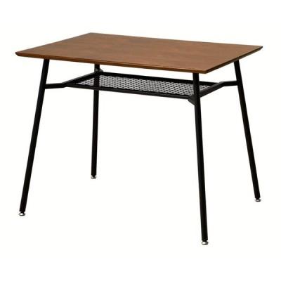 anthem アンセム ダイニングテーブル 幅90cm スチール ブラック 省スペース 机 食卓 デスク 作業台 代引不可