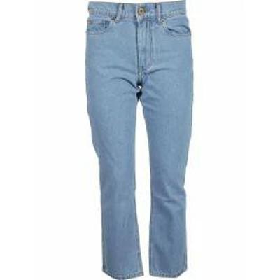 Nanushka レディースデニム Nanushka Cropped Jeans 90`s Blue