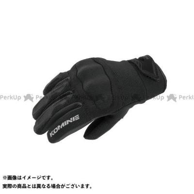 KOMINE メッシュグローブ 2020-2021秋冬モデル RGK-006 プロテクトキッズメッシュグローブ(ブラック) サイズ:KM コミネ