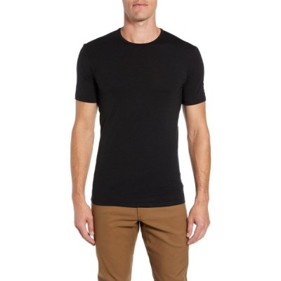 アイスブレーカー ICEBREAKER メンズ Tシャツ トップス Anatomica Short Sleeve Crewneck T-Shirt Black/Monsoon