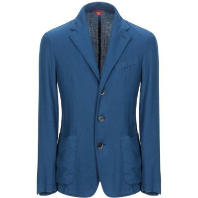 バレナ BARENA テーラードジャケット ブルー 52 ナイロン 50% / 毛(アルパカ) 50% テーラードジャケット