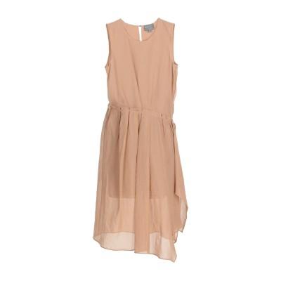 ロベルタフルラネット ROBERTA FURLANETTO 7分丈ワンピース・ドレス サンド 42 コットン 100% 7分丈ワンピース・ドレス