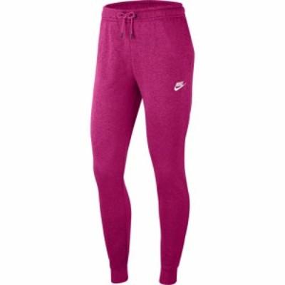 ナイキ Nike レディース ボトムス・パンツ Essential Regular Fleece Pants Fireberry/Heather/White