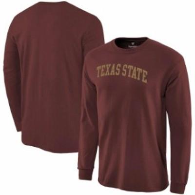 Fanatics Branded ファナティクス ブランド スポーツ用品  Fanatics Branded Texas State Bobcats Garnet Basic Arch L