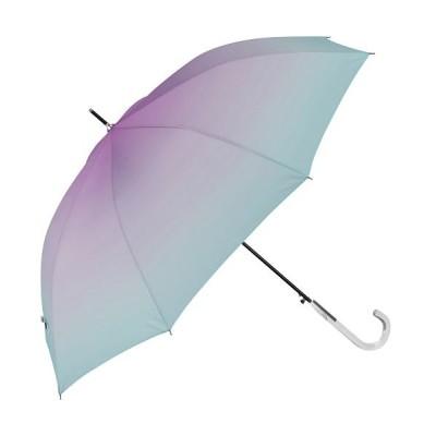【バックヤードファミリー】 amusant sous la pluie レディース耐風長傘 60cm レディース ブルー 長傘60cm BACKYARD FAMILY