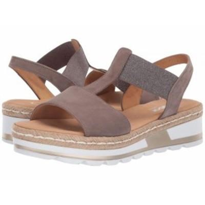 Gabor ガボール レディース 女性用 シューズ 靴 サンダル Gabor 22.723 Taupe【送料無料】