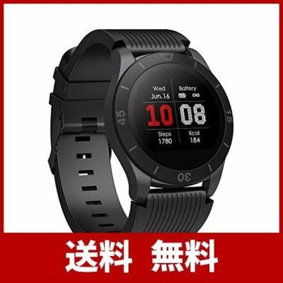 【2019最新版&大画面】スマートウォッチ スマートブレスレット 血圧計 心拍計 歩数計 カラースクリーン 活動量計 1.22インチ 腕時計 IP68