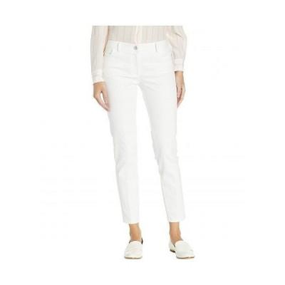 Elliott Lauren レディース 女性用 ファッション ジーンズ デニム Washed Stretch Denim Jeans - White
