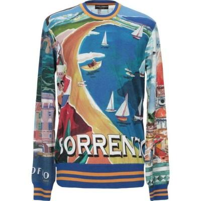 ドルチェ&ガッバーナ DOLCE & GABBANA メンズ ニット・セーター トップス cashmere blend Blue