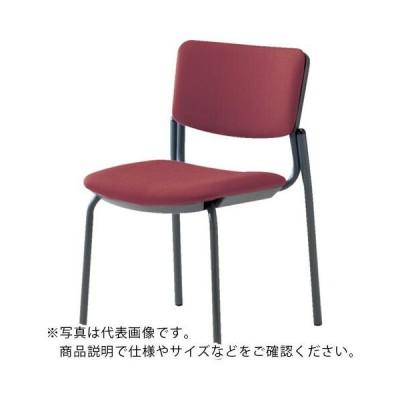 ナイキ 会議用チェアー 座:布張り (E217FB-WI) (株)ナイキ (メーカー取寄)