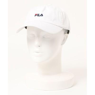 JEANS MATE / 【FILA/フィラ】スモールロゴローキャップ ワンポイント刺繍 WOMEN 帽子 > キャップ