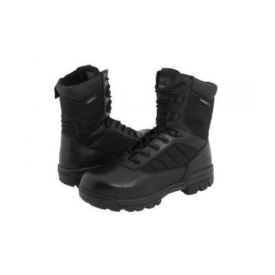 """Bates Footwear ベイツ メンズ 男性用 シューズ 靴 ブーツ ワークブーツ 8"""" Tactical Sport Composite Toe Side Zip - Black"""