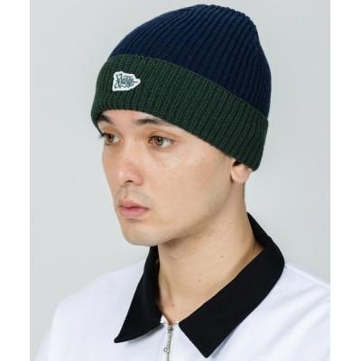 XLARGE / BI COLOR KNIT CAP MEN 帽子 > ニットキャップ/ビーニー